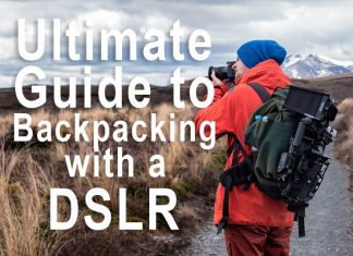 backpacking with a dslr camera