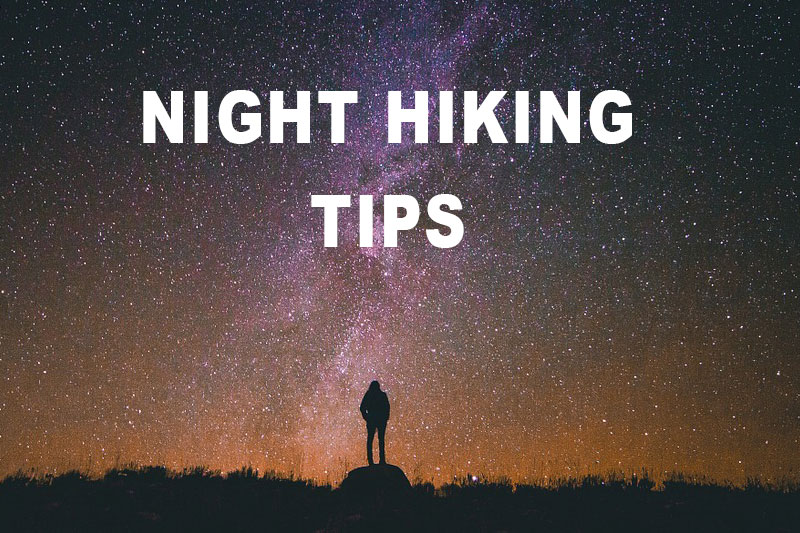 tips for hiking at night image